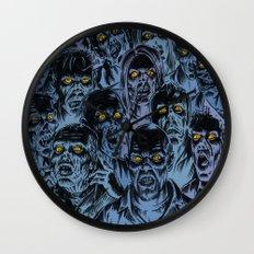 Zombie eyes Wall Clock