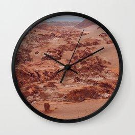 Valle de la Luna, Chile Wall Clock