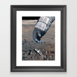 Man of the Moon Framed Art Print