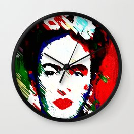 FRIDA K. Wall Clock