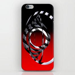 turns of metal -01- iPhone Skin