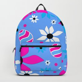 Happy Easter Eggs Pattern Backpack