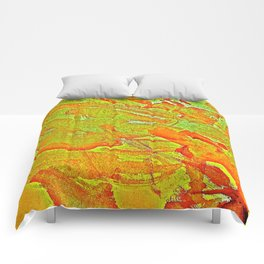 Bloody-Nature Abstract Comforters
