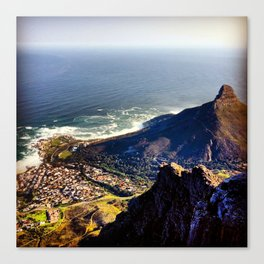 Overlooking Lions Head Mountain Canvas Print