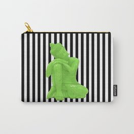 My  inner Green Buddha | Namaste Pop Art Buddha Carry-All Pouch