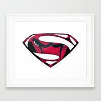 chicago bulls Framed Art Prints featuring Bulls by ALmighty1080