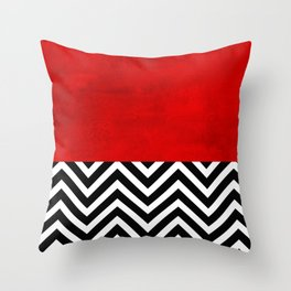 Fire, walk with me. Throw Pillow