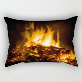 Fire flames Rectangular Pillow