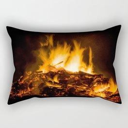 Fire flames Rectangular Pillow