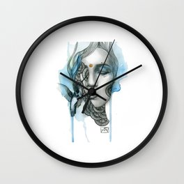 Animal Spirits: Hummingbird Wall Clock