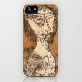The Saint of the Inner Light by Paul Klee, 1921 iPhone Case