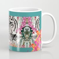the thing Mugs featuring WILD THING by Monika Strigel