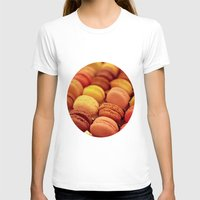 macarons T-shirts featuring paris macarons by AnnaGo