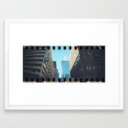Sunny Chicago Framed Art Print