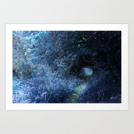 Blue Passage Art Print