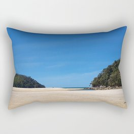 Tidal Beach Rectangular Pillow