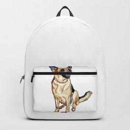 German Shepard Backpack