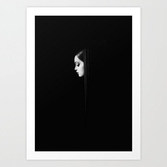Back in Black Art Print