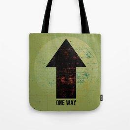 « one way » Tote Bag