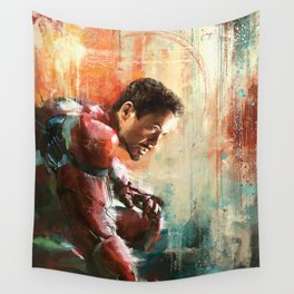 The man of Iron Wall Tapestry