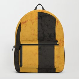 Black and Gold House Colours Backpack