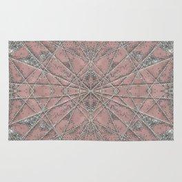 Snowflake Pink Rug