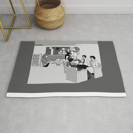 OFFICE MEETING Rug