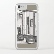 All aboard! Clear iPhone Case