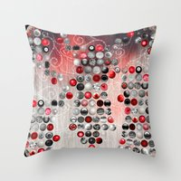 asian Throw Pillows featuring Asian Lake by Eva Nev
