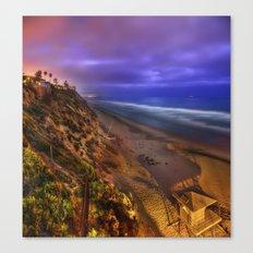 Encinitas Beach Canvas Print
