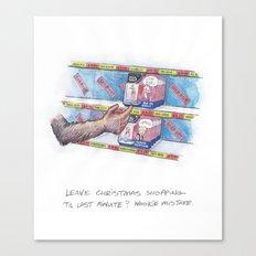 Wookie Mistake Canvas Print