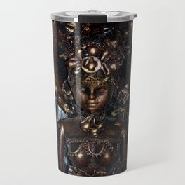 She Rises From Abuse by Kathy Morton Stanion Travel Mug