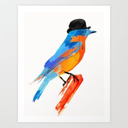 Lord Birdy Art Print