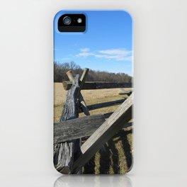 Manassas Battlefield iPhone Case