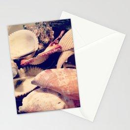 Bowl of Seashells Stationery Cards
