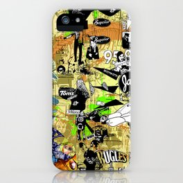 Vivid and Livid iPhone Case