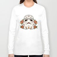 mexican Long Sleeve T-shirts featuring Mexican Sugartrooper by Sophia Fredriksson Illustration