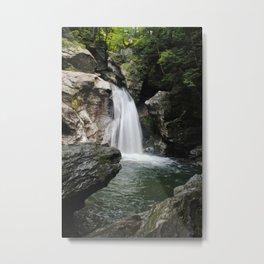 Bingham Falls, Stowe, VT Metal Print