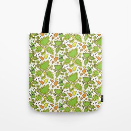 Fresh Leaves Tote Bag