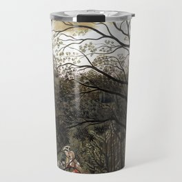 Henri Rousseau Rendezvous in the Forest Travel Mug