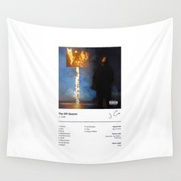 J. Cole - The Off-Season (Album Cover) Hip Hop Art Music Wall Tapestry