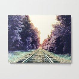 train TRACKS : Fond Dreams Metal Print