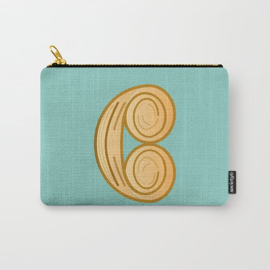 C for cool breakfast Carry-All Pouch