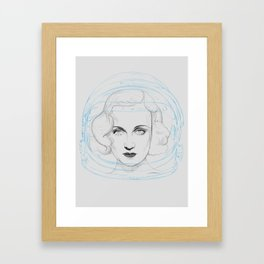 Space Lombard Framed Art Print