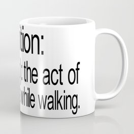 Definition: Putin - The Act of Expelling Gas While Walkig, Funny Sign, Joke Coffee Mug