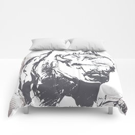 Bison - Abstract Comforters