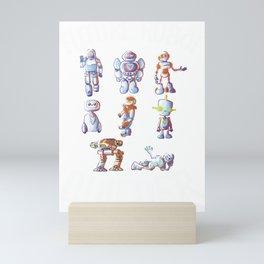 Future Robot Builder, Robot, Robot Art, Robot Party, Robotics, Robot Baby, Robot T Shirt, Sci Fi Mini Art Print