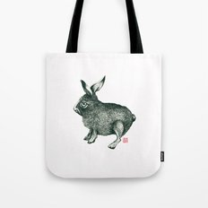 Cold Rabbit Tote Bag