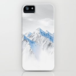 Snow Capped Mountains iPhone Case