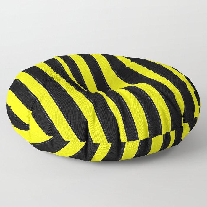 Strips 6-line,band,striped,zebra,tira,linea,rayas,rasguno,rayado. Floor Pillow